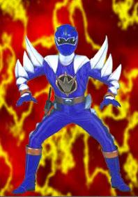 Ethan: Blue Dino Thunder Rangers