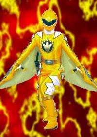 Kira: Yellow Dino Thunder Rangers
